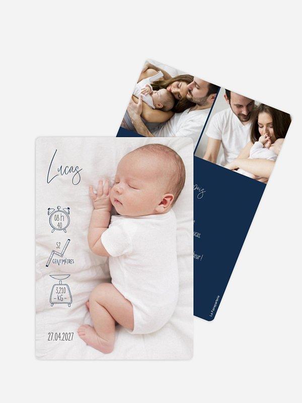 Faire-part naissance Jolies icônes