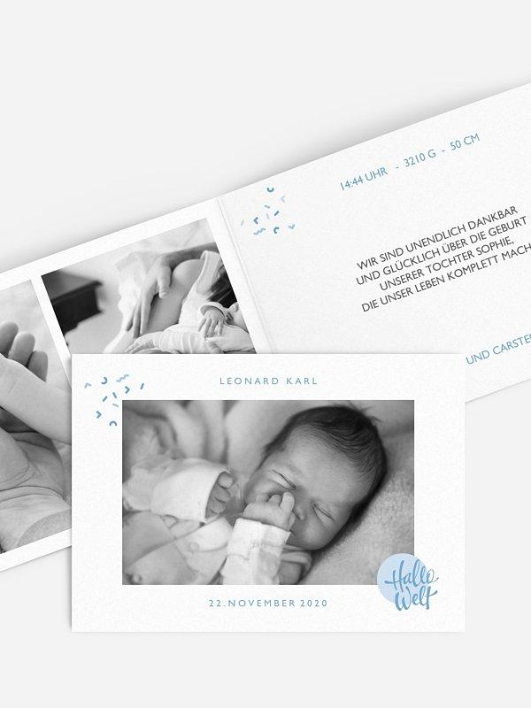 Geburtskarte Babylove