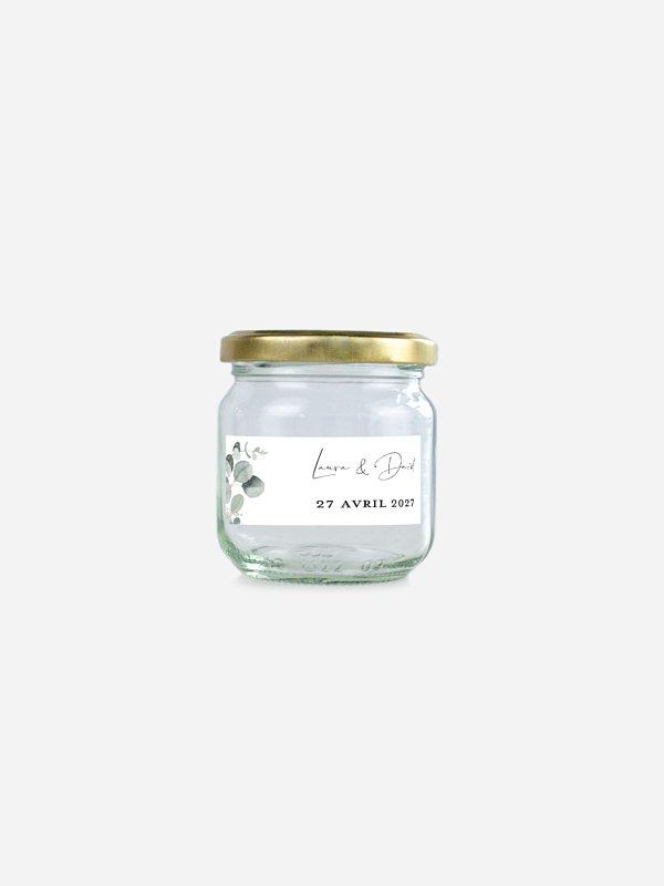Étiquette cadeau mariage Eucalyptus Love