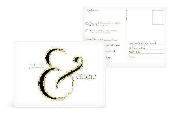 Carton réponse & Premium