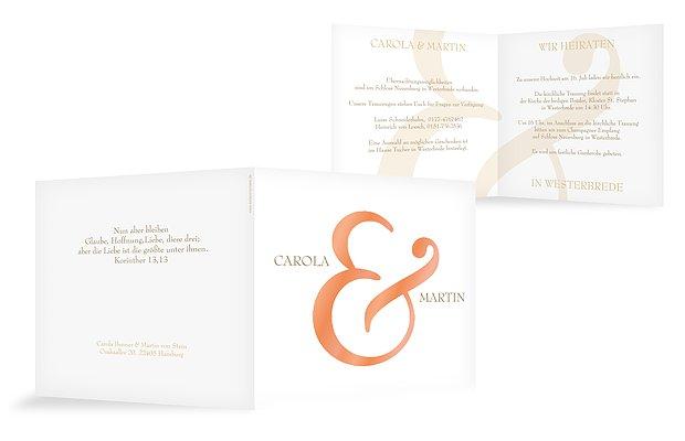 Hochzeitseinladung & Premium