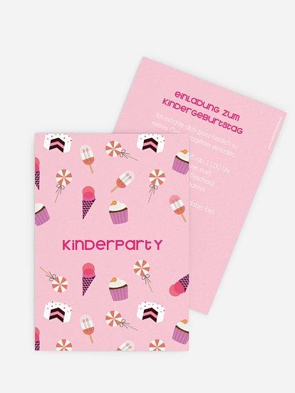 Einladungskarten Zum Kindergeburtstag Selbst Gestalten