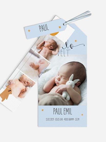 "Geburtskarte ""Lovely Lullaby"""