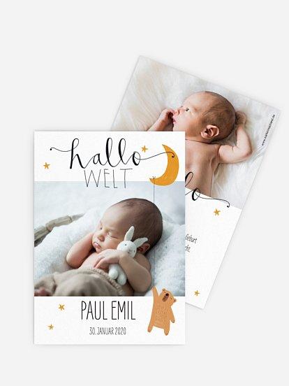 Geburtskarten Gestalten Die Schönsten Karten In 1 2 Tagen