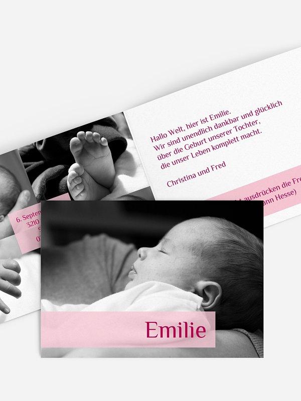 Geburtskarte Bildreich