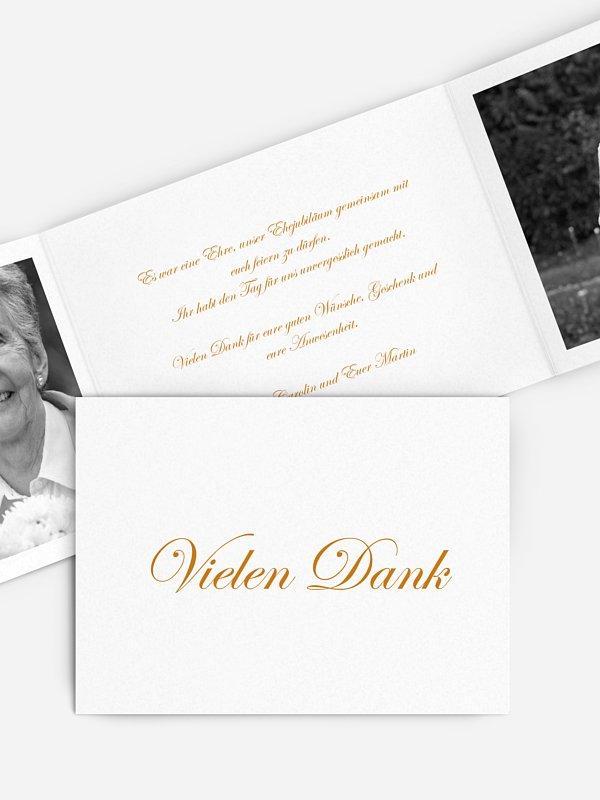 Danksagung zur Goldenen Hochzeit Schriftlich