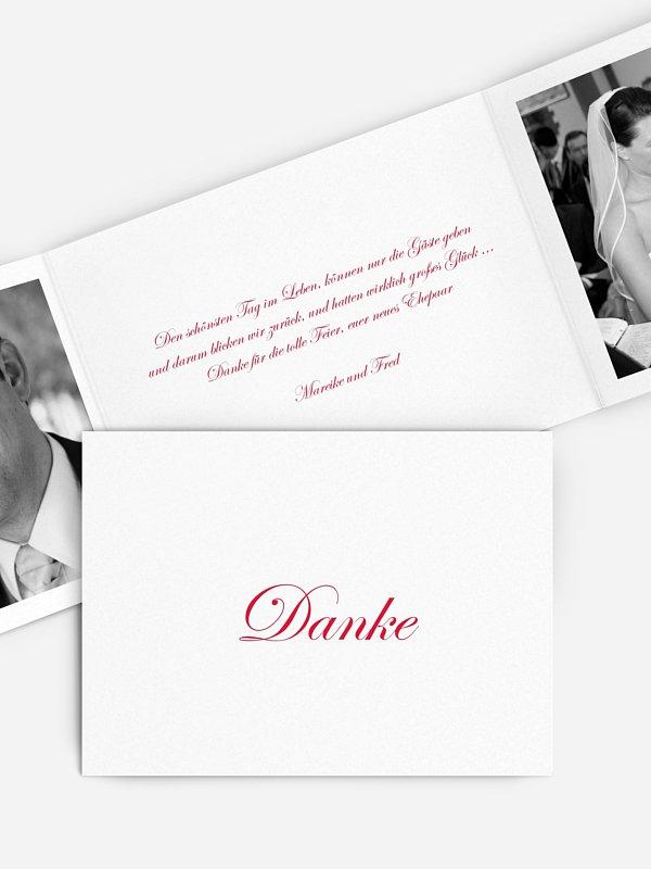 Dankeskarte Hochzeit Schriftlich