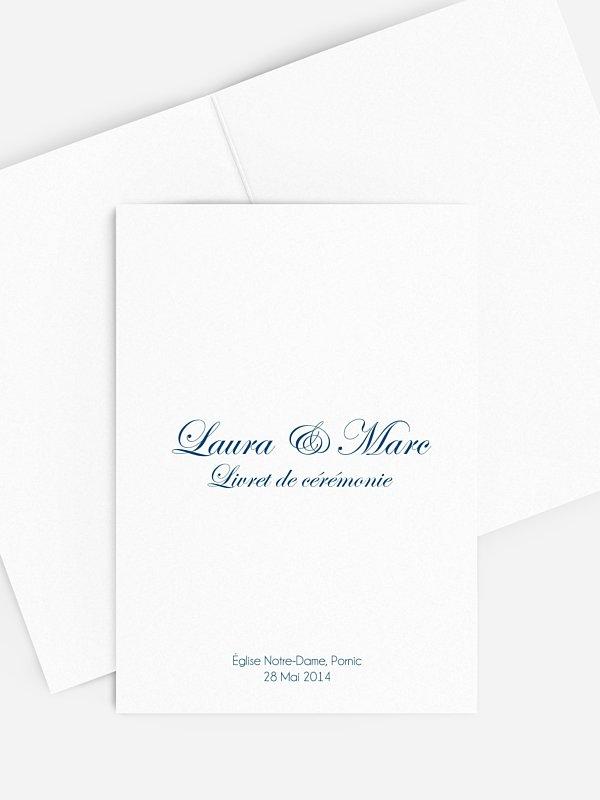 Livret de messe mariage En toutes lettres
