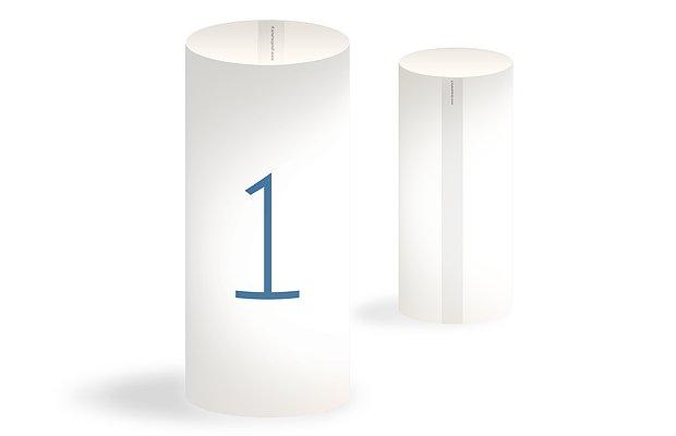 Numéro de table mariage En toutes lettres