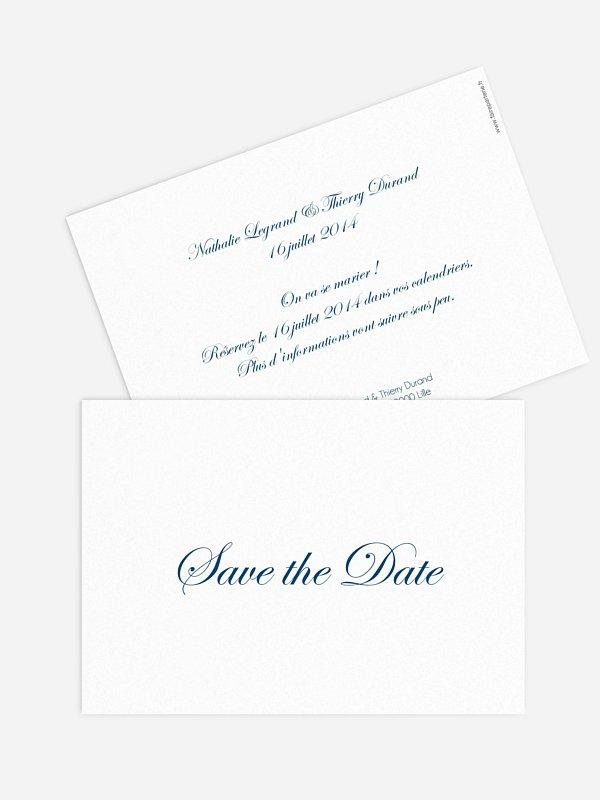 Save the date En toutes lettres