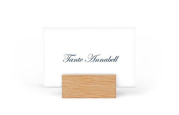 Tischkarte Hochzeit Schriftlich