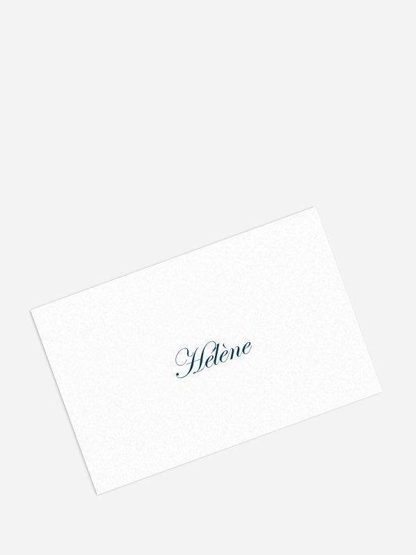 Marque-place mariage En toutes lettres