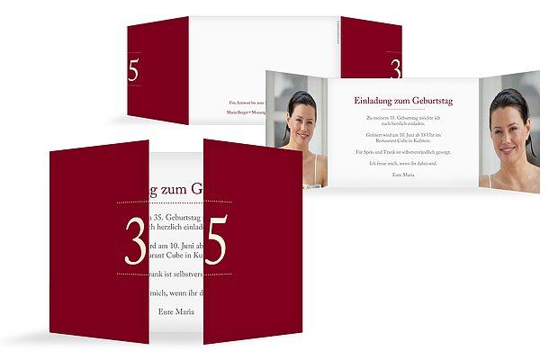 Geburtstagseinladungen – Einladungskarten zum Geburtstag ...