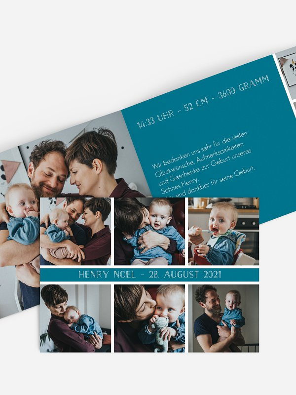 Geburtskarte Fotoreich