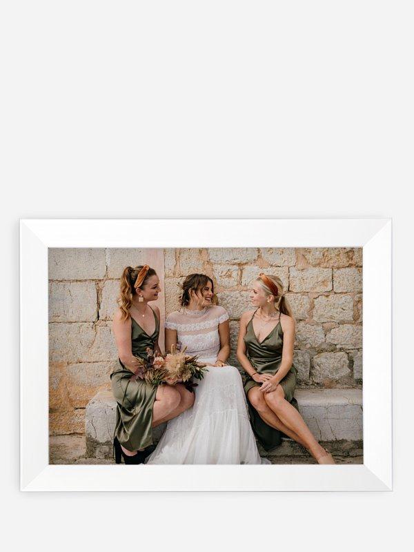Wandbild Hochzeit Bildschön