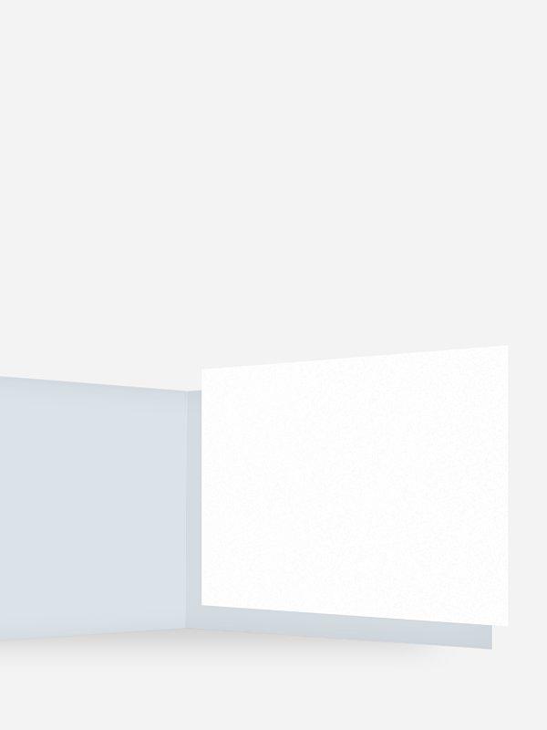 Einlegeblätter Blanko für Trauerkarten