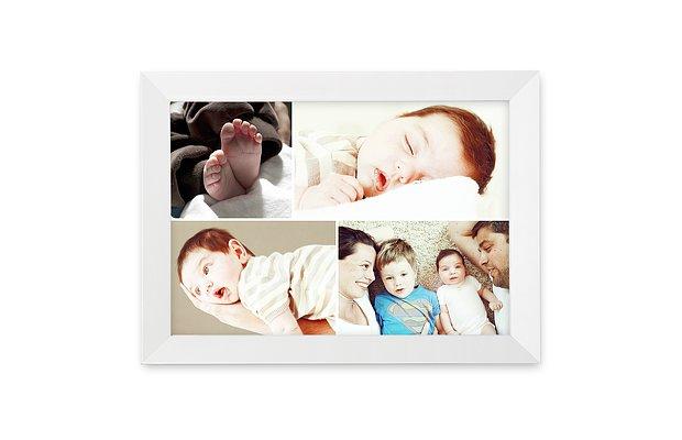 Wandbild Geburt Collage