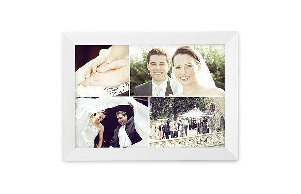 Wandbild Hochzeit Collage