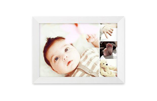 Wandbild Geburt Memory