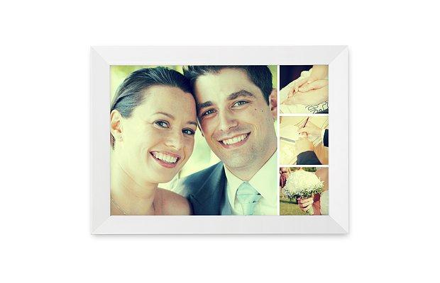 Wandbild Hochzeit Memory