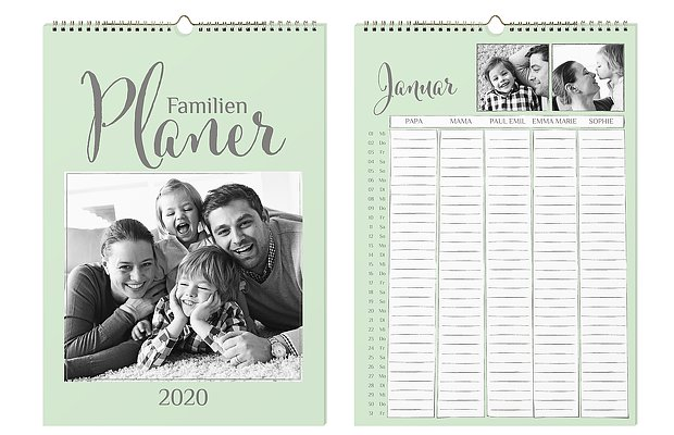 Familienkalender Perfect Timing