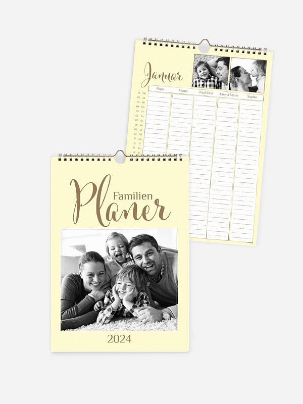 Familienkalender Perfect Timing 5 Spalten