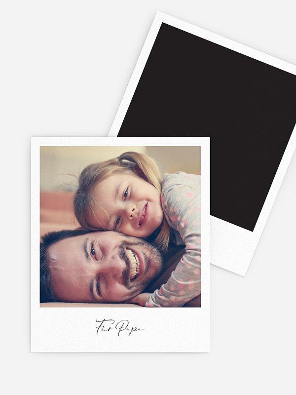 Retro Bilder Vatertag Momentaufnahme