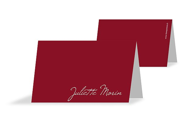 Marque-place mariage Traditionnel