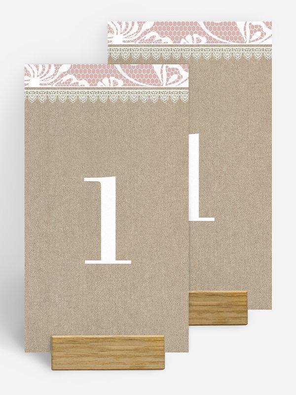 Tischnummer Enchanté