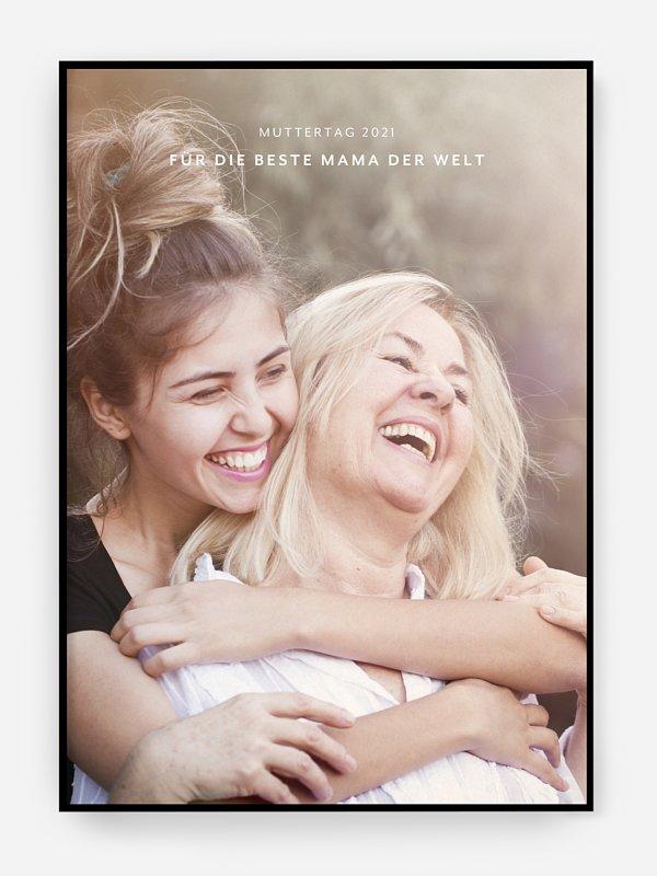 Poster Muttertag Für die Besten