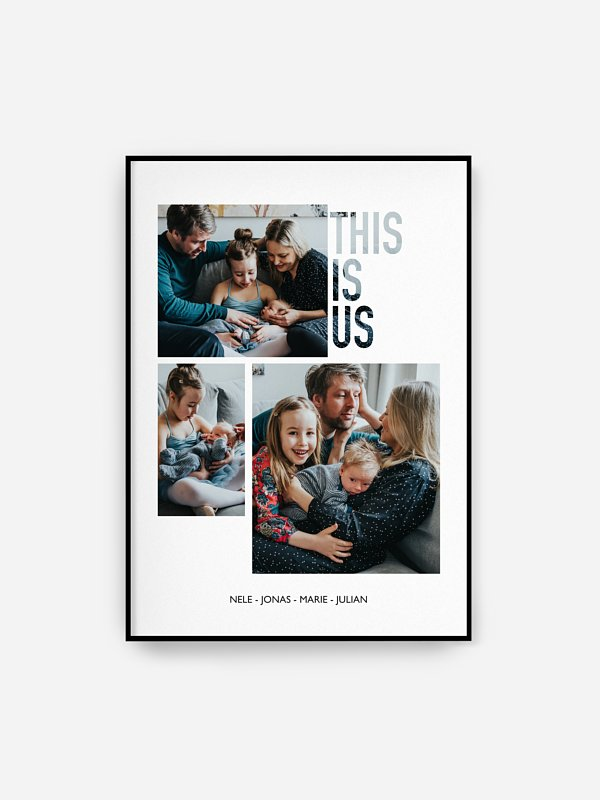 Poster Ostern This is us
