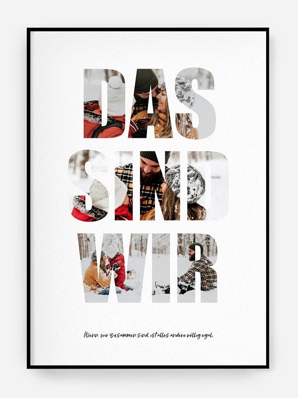 Poster Das sind wir