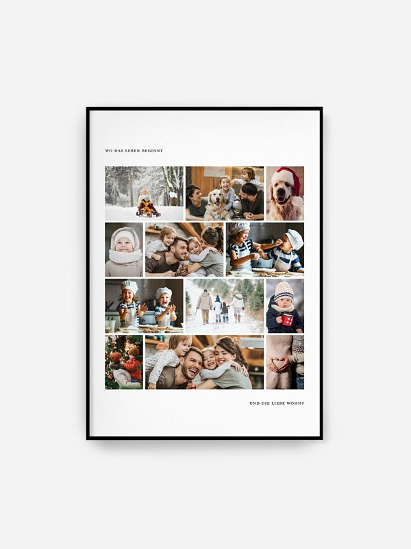 Poster Familie