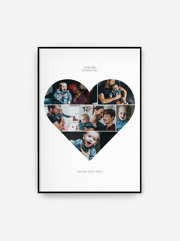 Poster Geburt Im Herzen