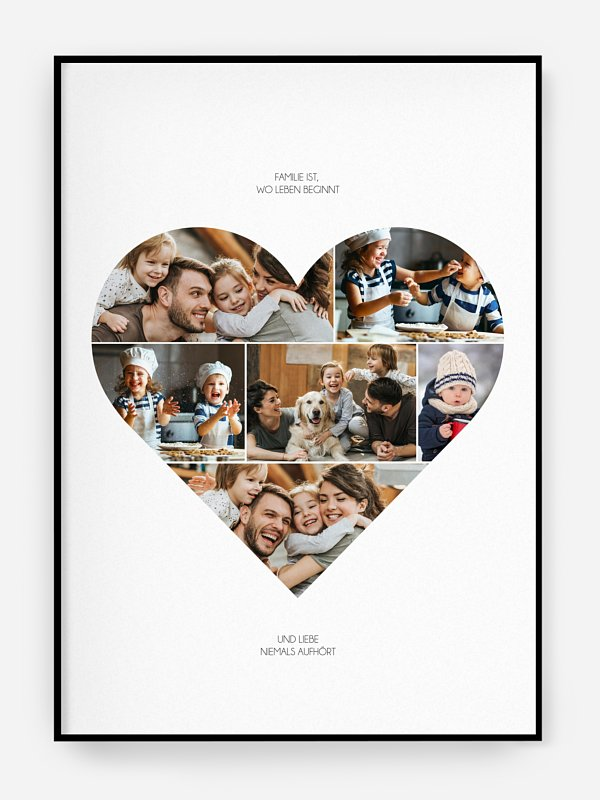Poster Im Herzen