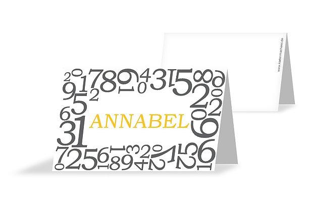 Tischkarten Zum Geburtstag Platzkarten In 1 2 Tagen