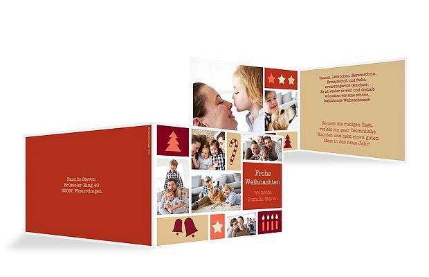 Weihnachtskarte Weihnachtliches