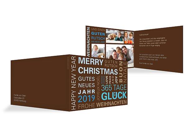 Weihnachtskarte 365-Tage