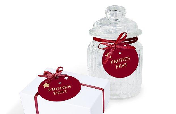Geschenkeanhänger Pure Weihnacht