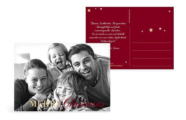 """Weihnachtskarte """"Pure Weihnacht"""""""