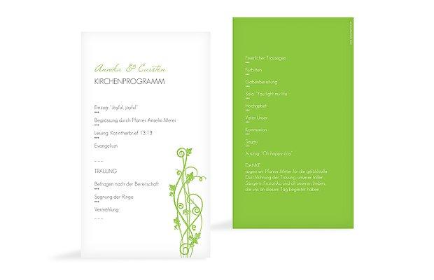 Kirchenheft Hochzeit Ranke