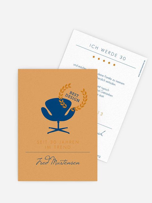 Geburtstagseinladung Best Design