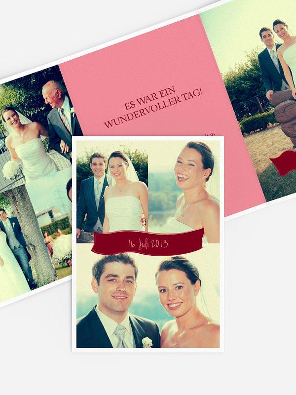 Dankeskarte Hochzeit Paris