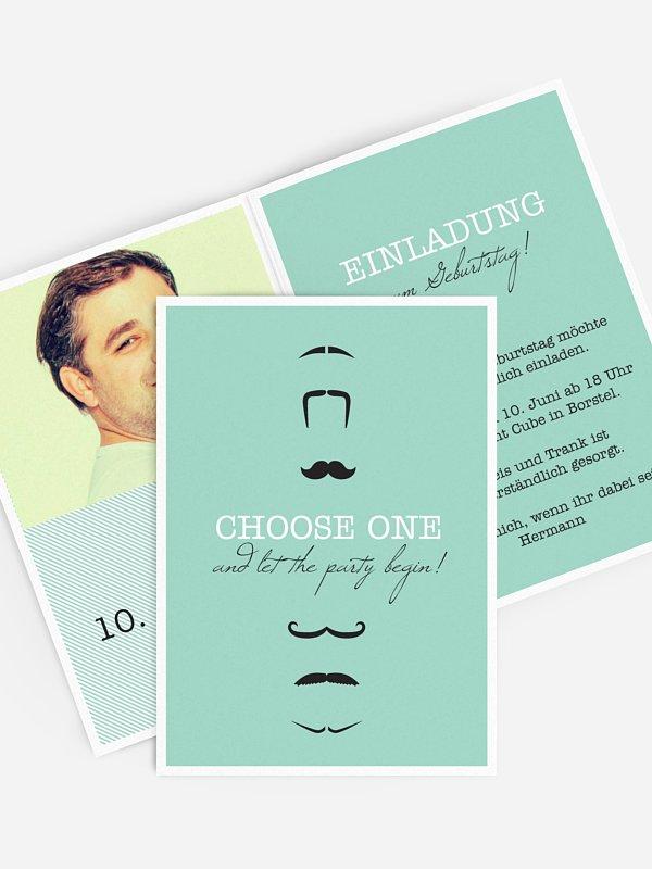 Einladung 40. Geburtstag Choose One