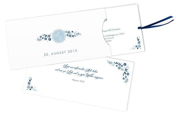 Einladung Zur Hochzeit Blumen
