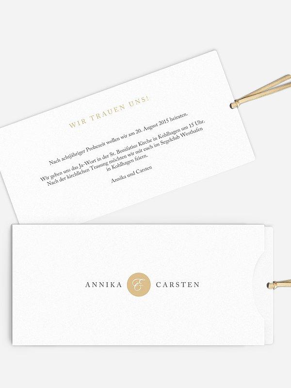 Hochzeitseinladung Button
