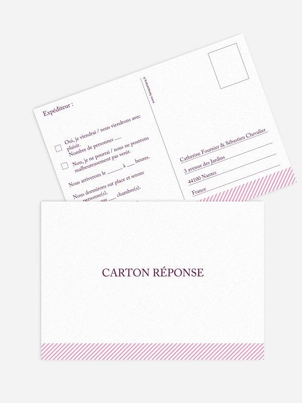 Carton réponse En toute simplicité