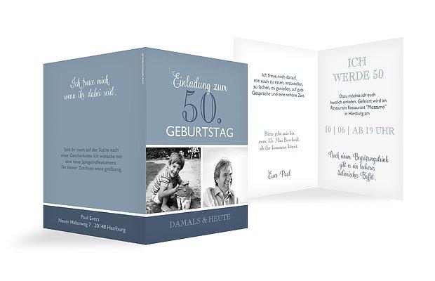 Einladung 6 Geburtstag: Einladung Zum 50. Geburtstag: Einladungskarten Gestalten