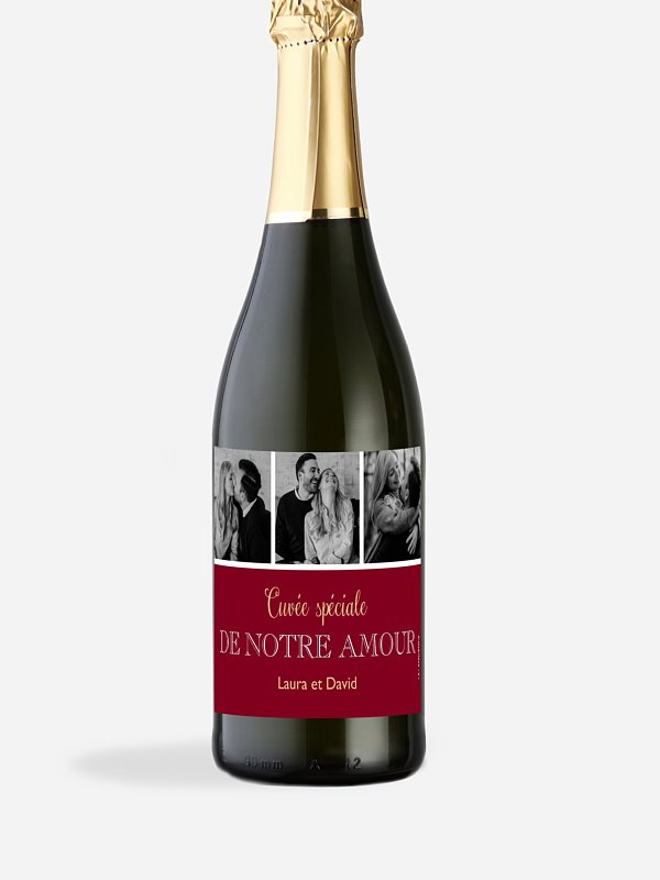Étiquette bouteille Simplicité