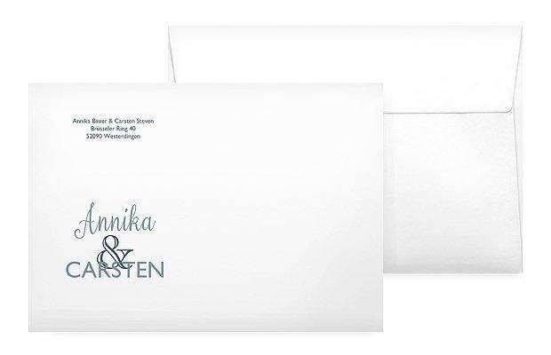 Briefumschlag mit Motiv Mixed Up